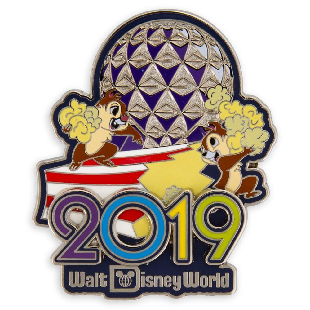Chip 'n Dale Walt Disney World Pin  2019