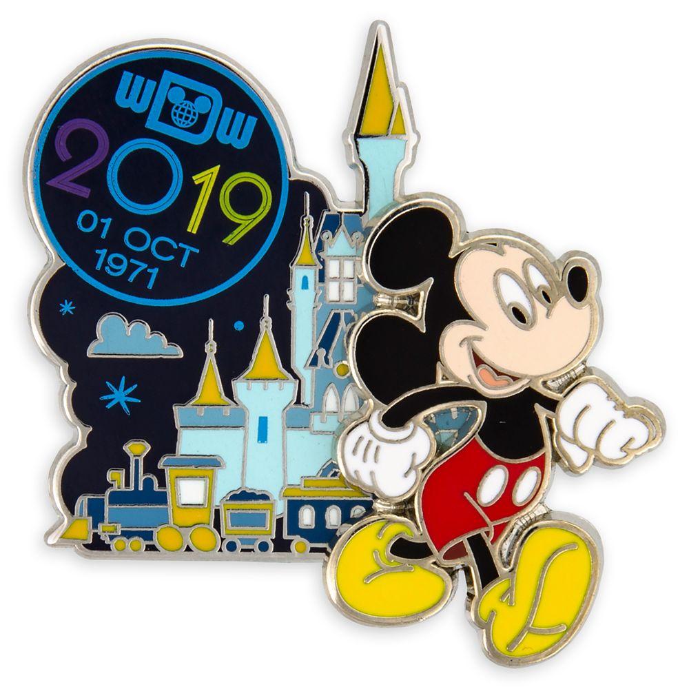 Mickey Mouse Walt Disney World Pin  2019
