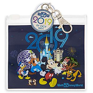 Walt Disney World Pin Trading Pouch - 2019