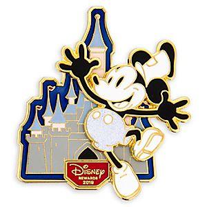 Mickey Mouse Steamboat Willie Pin - Disney® Visa® Cardmember Exclusive