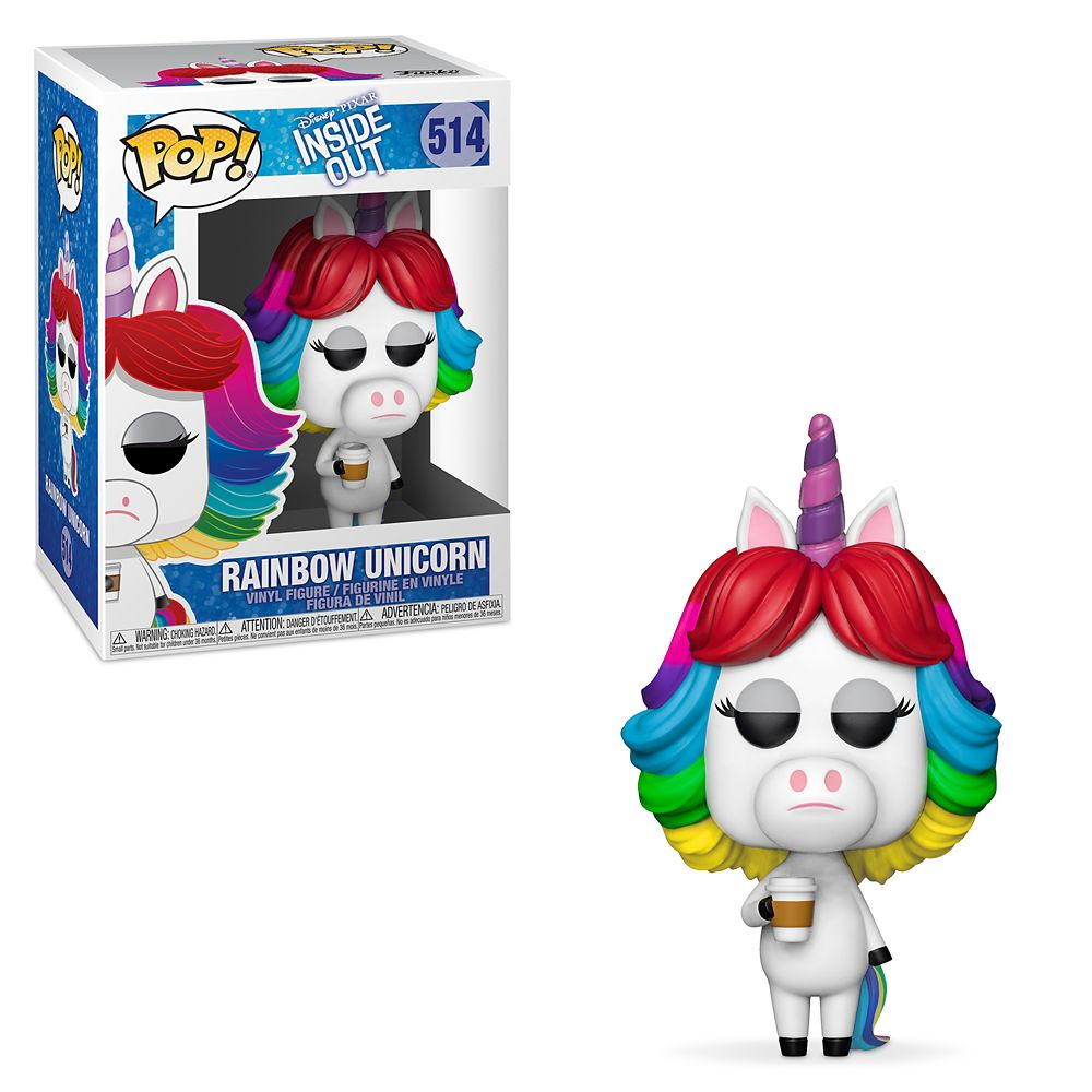 Rainbow Unicorn Pop! Vinyl Figure by Funko  Inside Out Official shopDisney