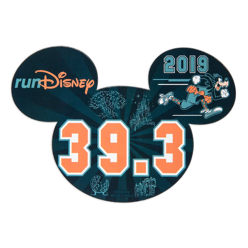 Goofy runDisney 2019 Magnet – 39.3