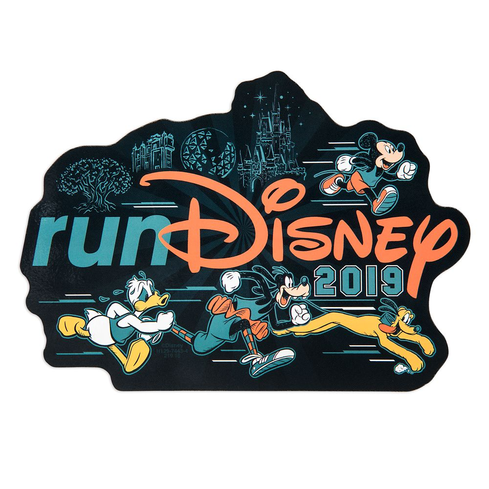 Mickey Mouse and Friends runDisney 2019 Magnet