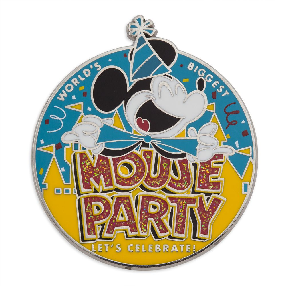 Mickey Mouse ''Mouse Party'' Pin