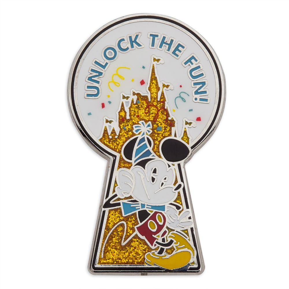 Mickey Mouse ''Unlock the Fun'' Pin