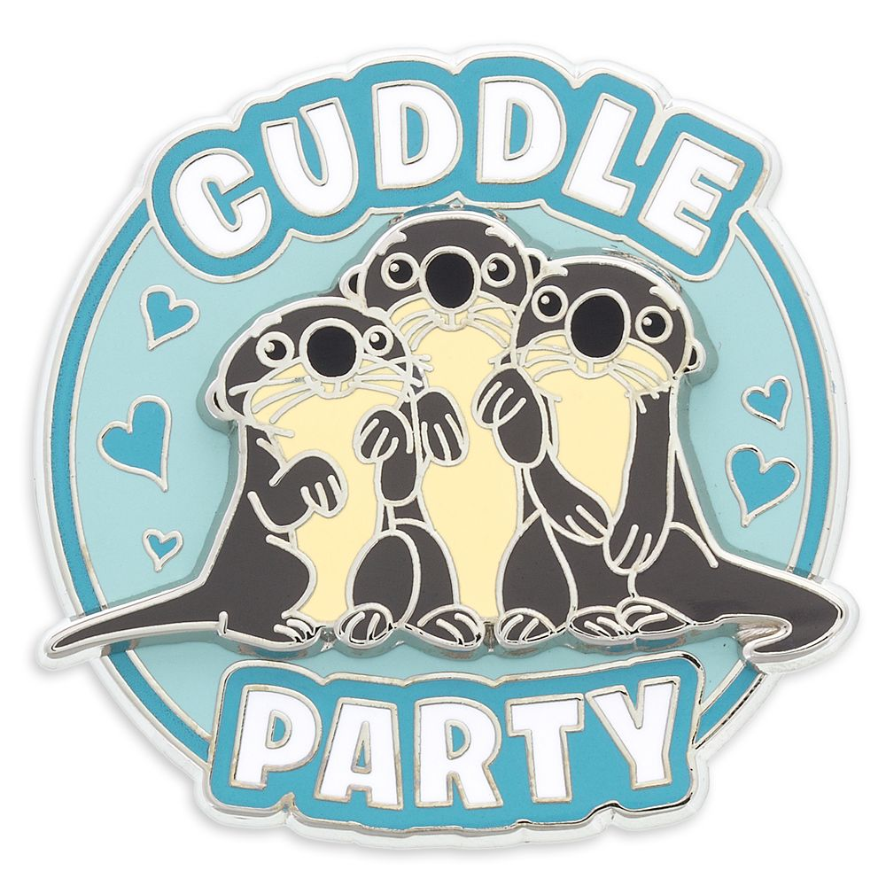 Otter Cuddle Party Pin – Finding Dory