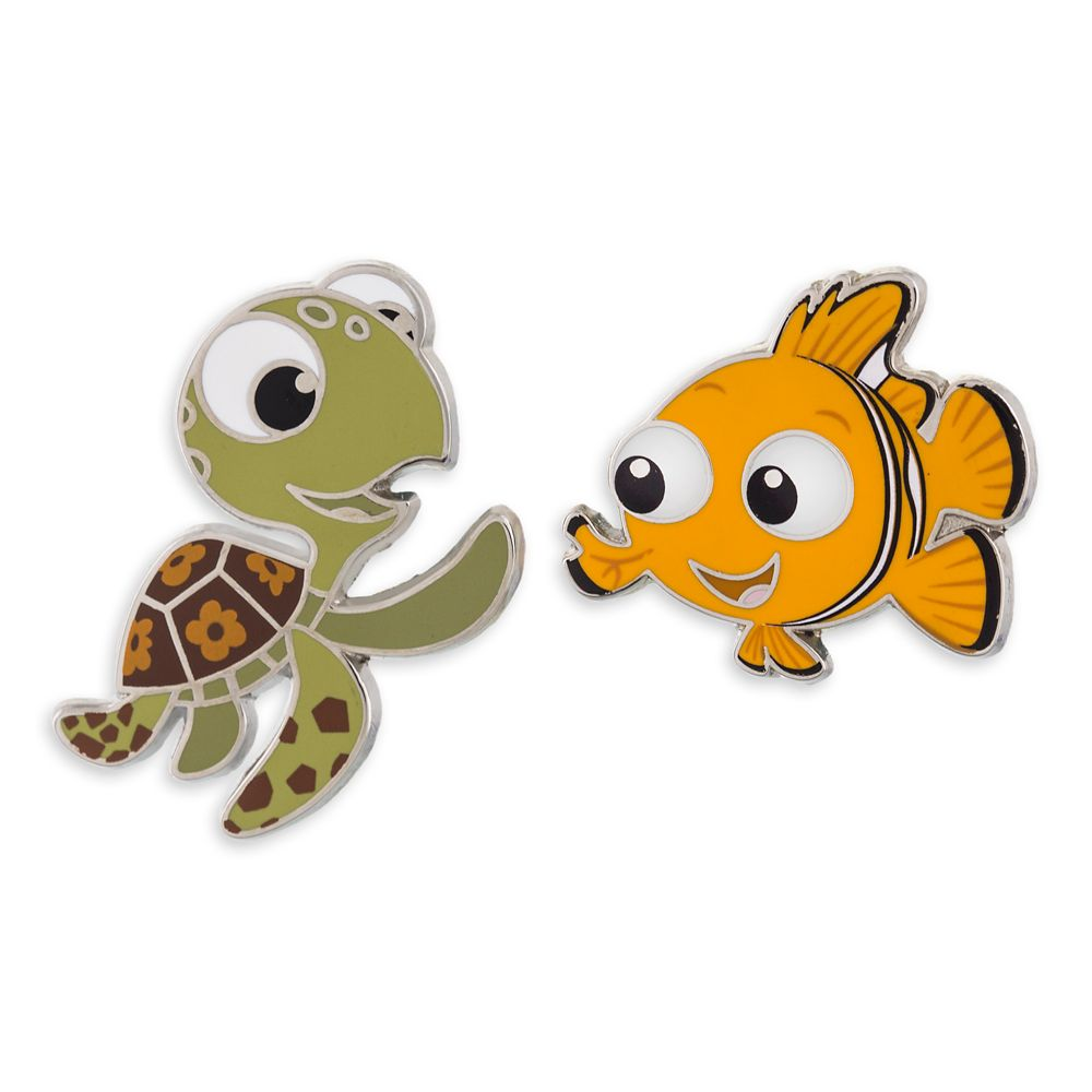 Squirt and Nemo Pin Set – Finding Dory