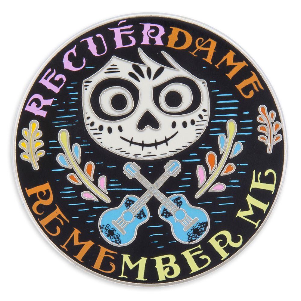 Miguel Rivera ''Remember Me'' Pin – Coco