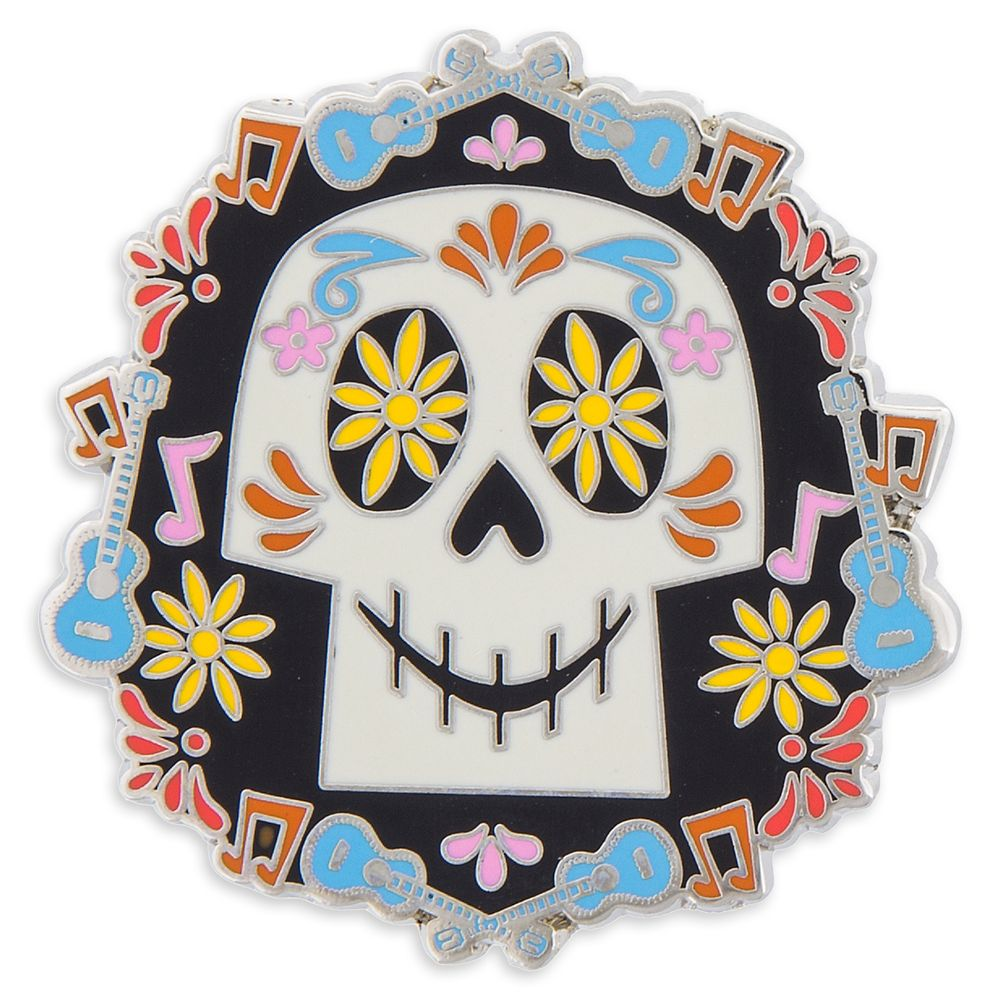 Coco Sugar Skull Pin