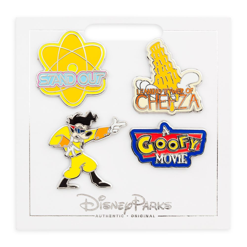 Goofy Movie Pin Set
