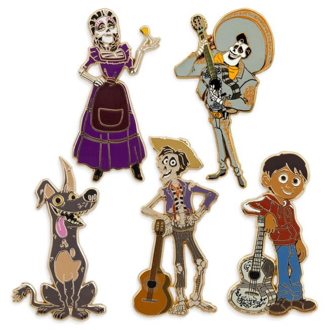 Coco Pin Trading Booster Set