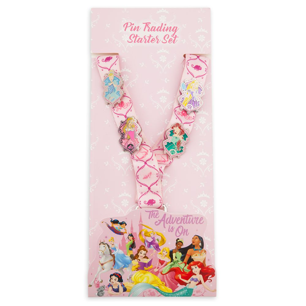Disney Princess: The Adventure Is on Pin Trading Starter Set