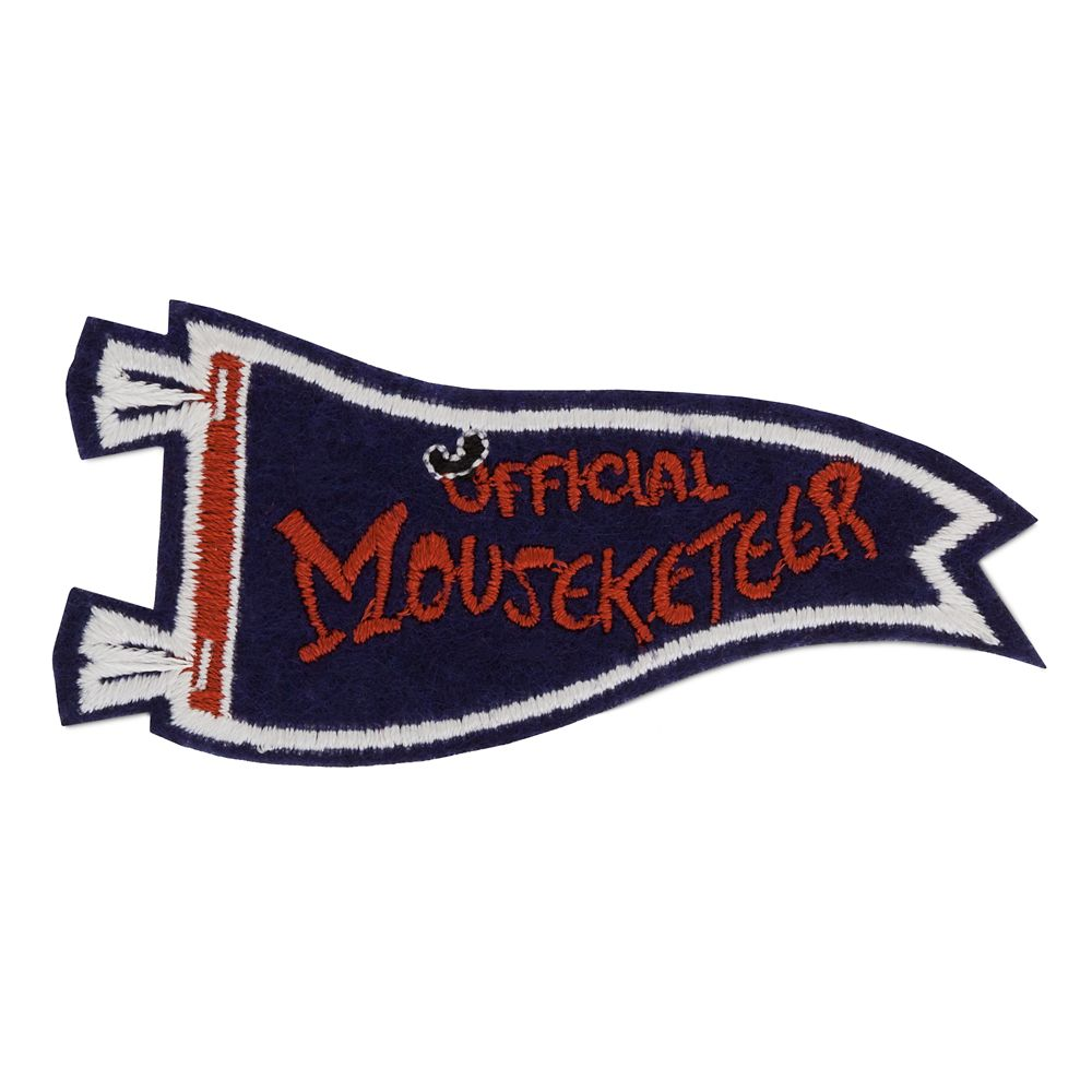 Mickey Mouse Club ''Official Mouseketeer'' Pennant Patched