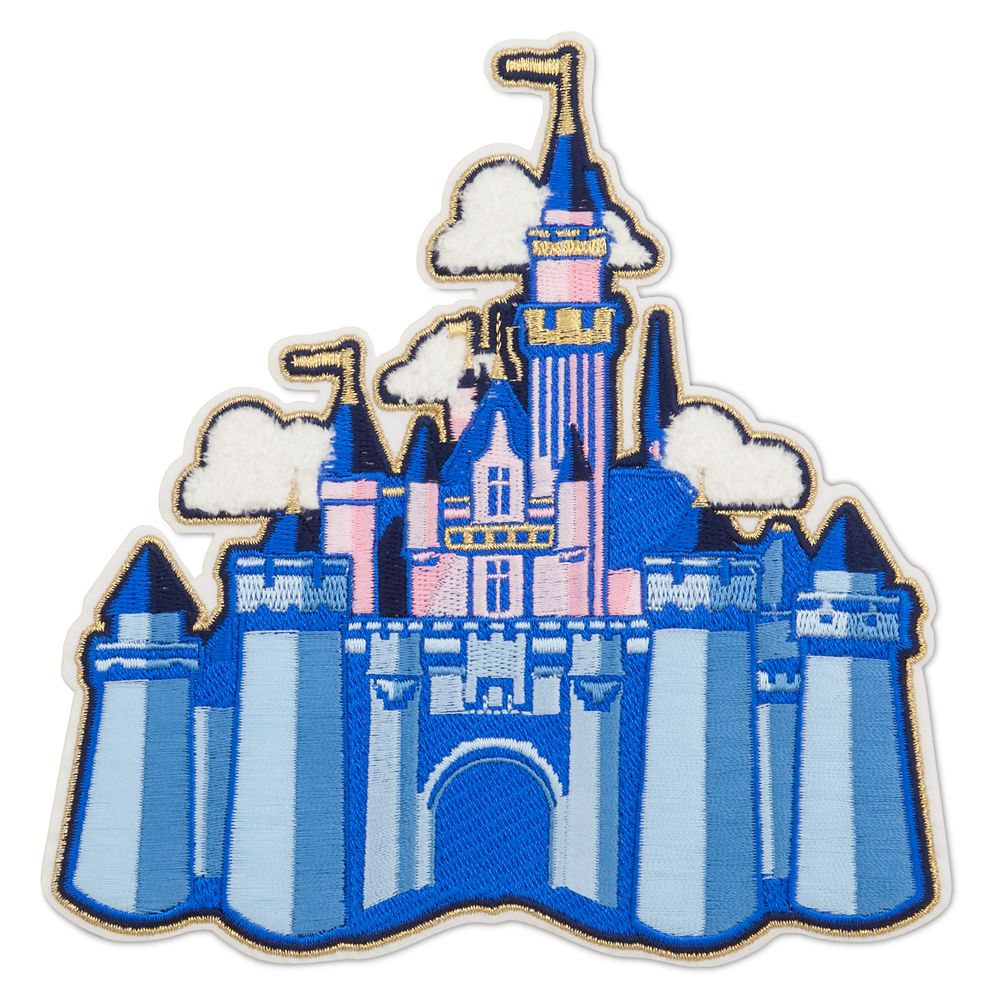 Sleeping Beauty Castle Patched – Disneyland
