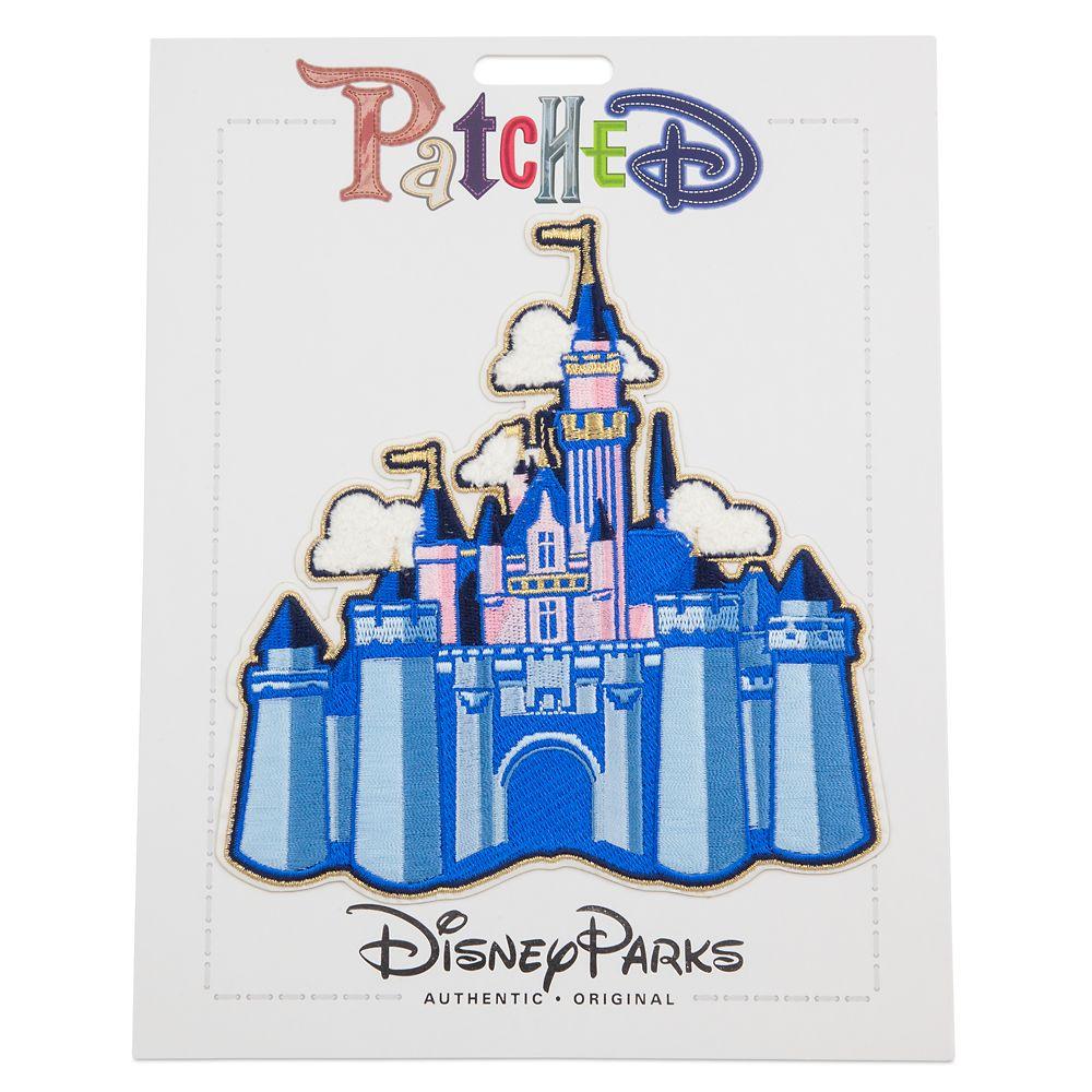 Sleeping Beauty Castle Patched – Disneyland