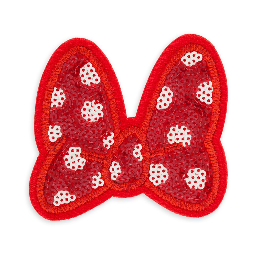 Minnie Mouse Bow Patched
