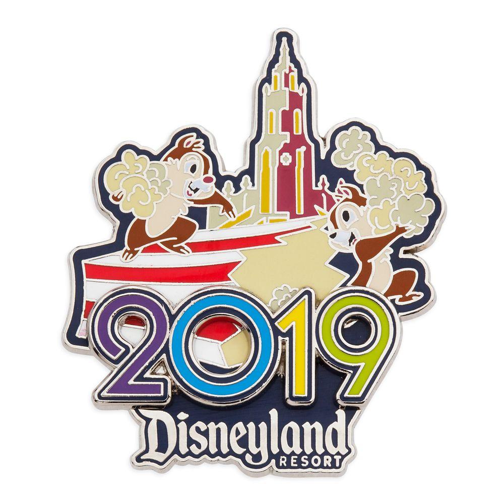 Chip 'n Dale Disneyland 2019 Pin