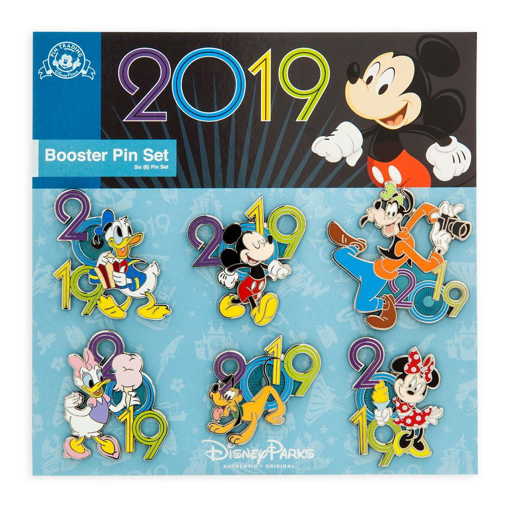 Mickey Mouse and Friends Pin Trading Booster Set 2019