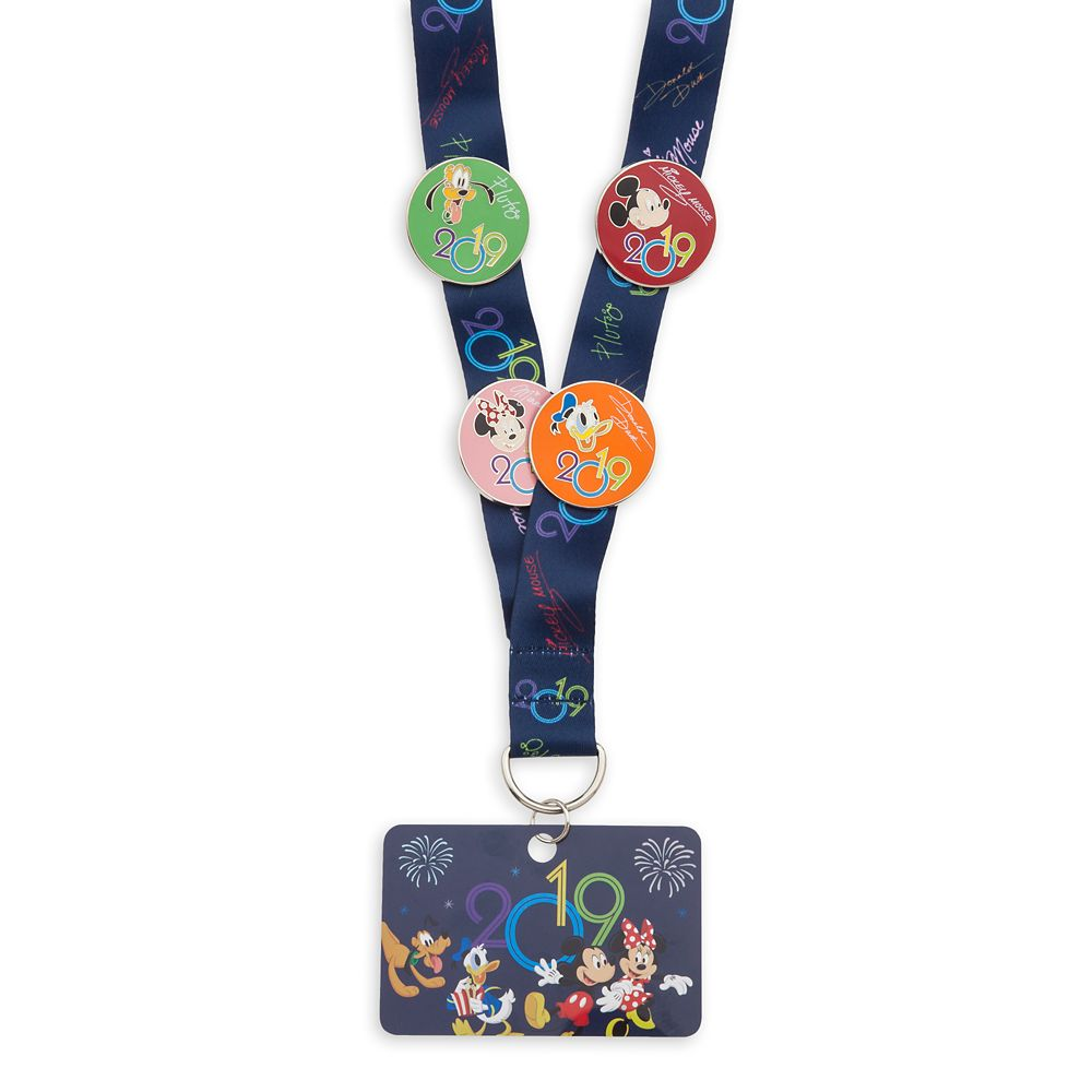 Mickey Mouse and Friends Pin Trading Starter Set – Disney Parks 2019