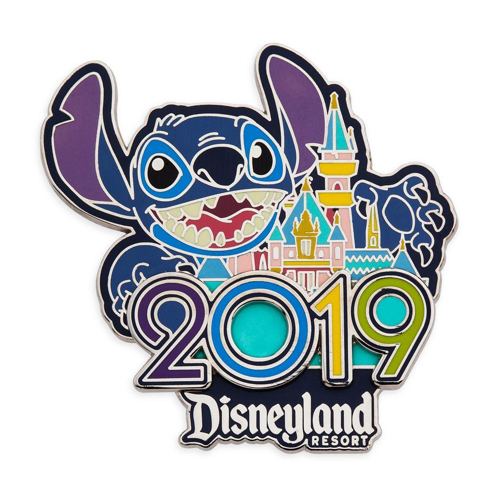 Stitch Pin – Disneyland 2019