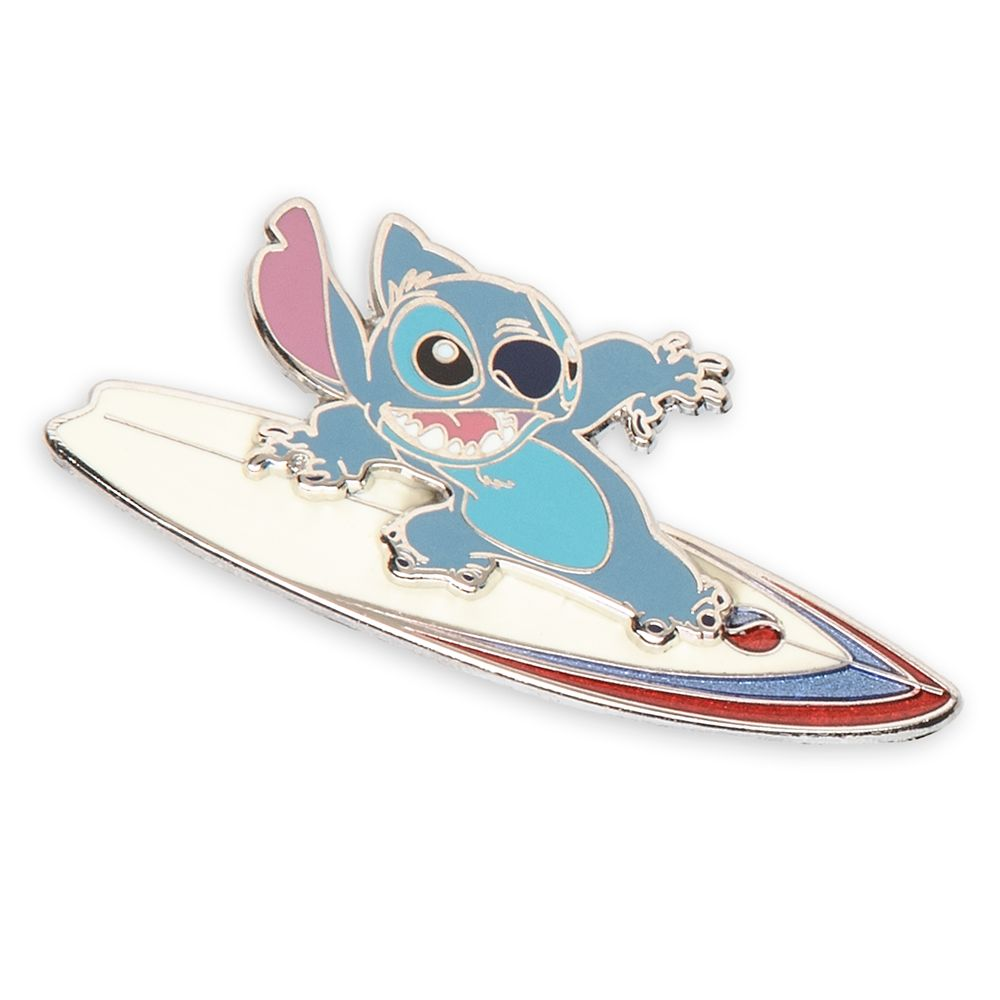 Stitch Surfer Pin