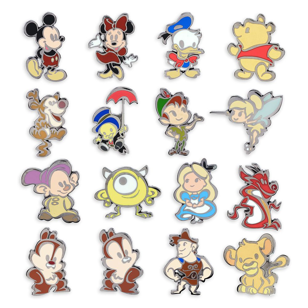 Disney Cuties Mystery Pin Pack