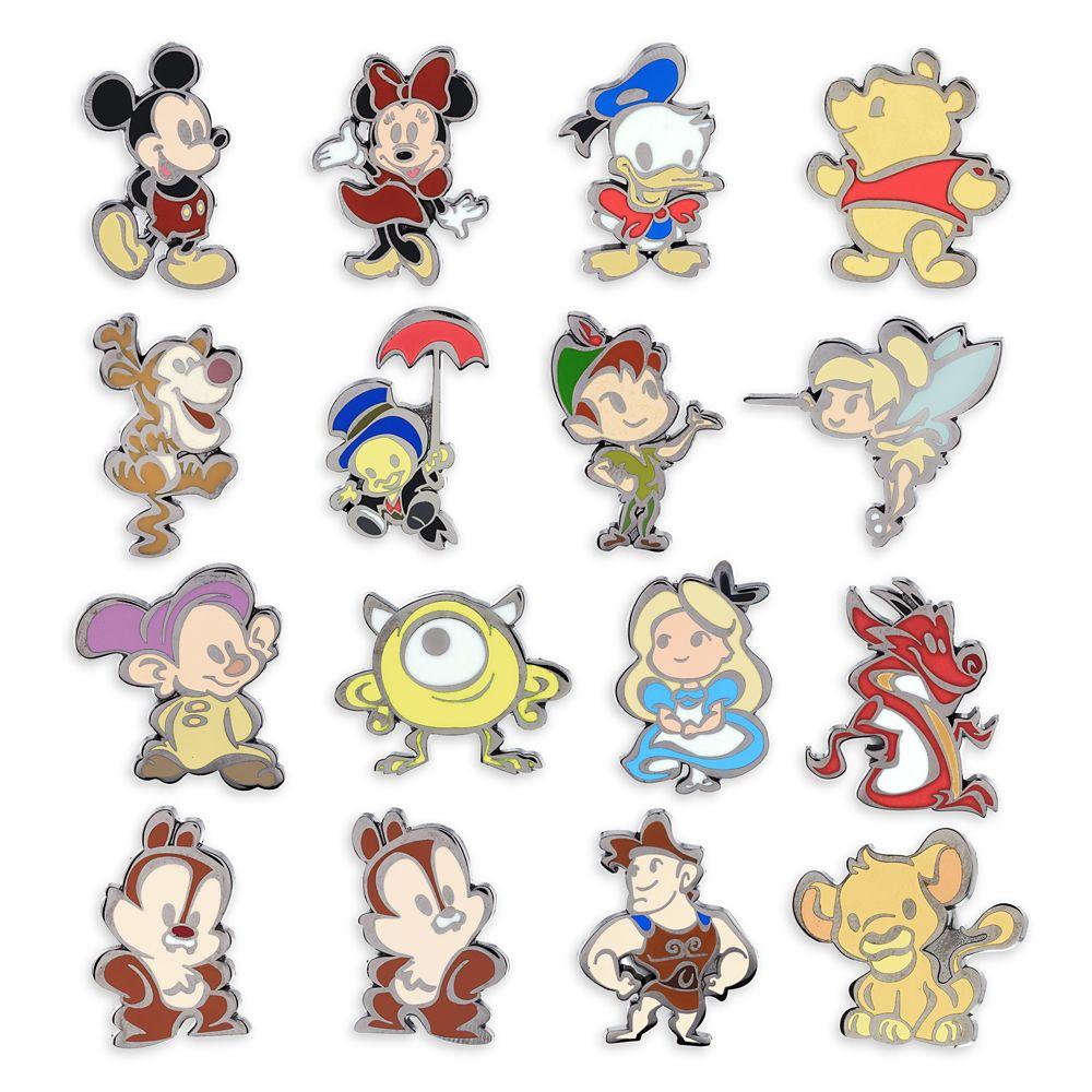 Disney Cuties Mystery Pin Pack