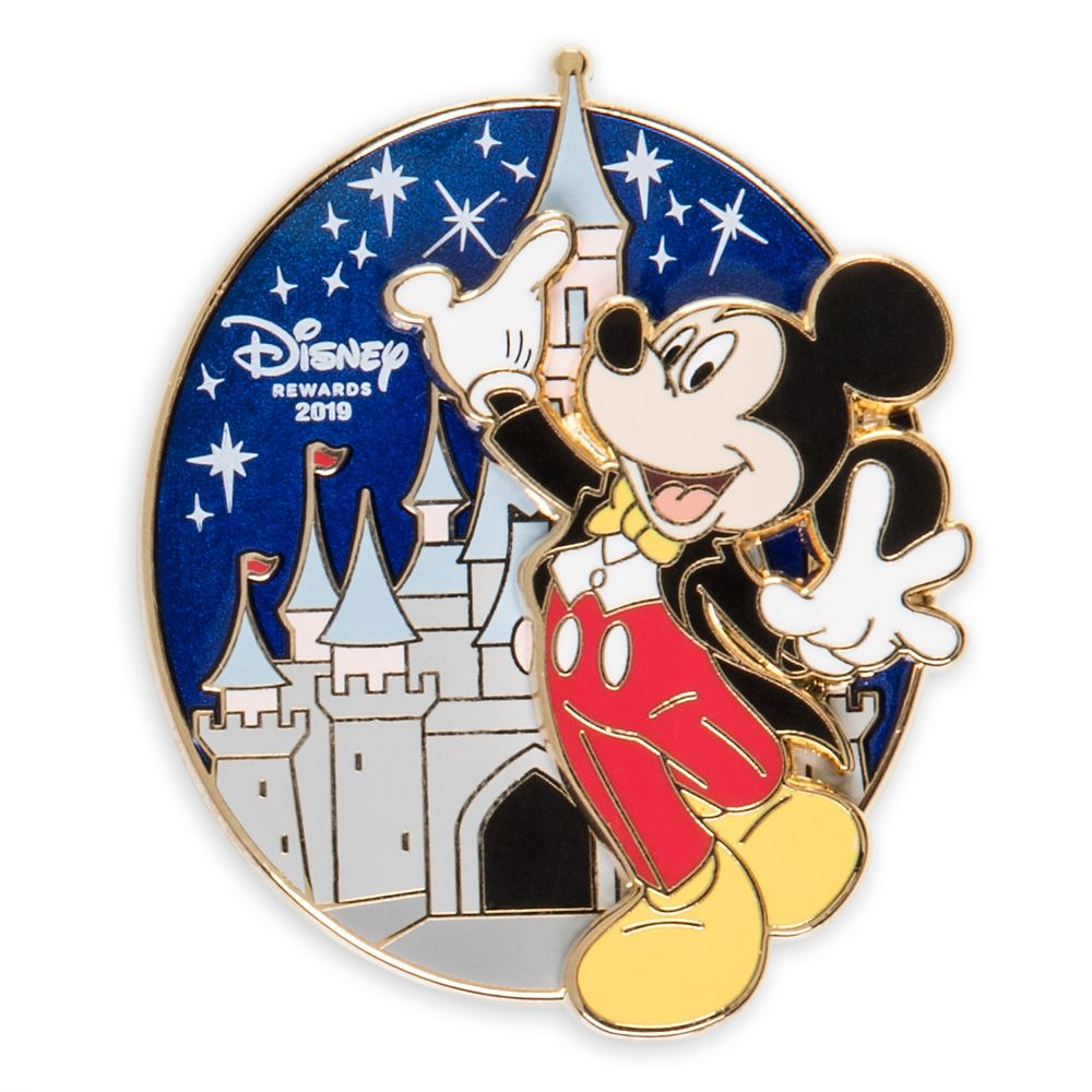 Mickey Mouse Tuxedo – Disney Rewards Cardmember Pin 2019