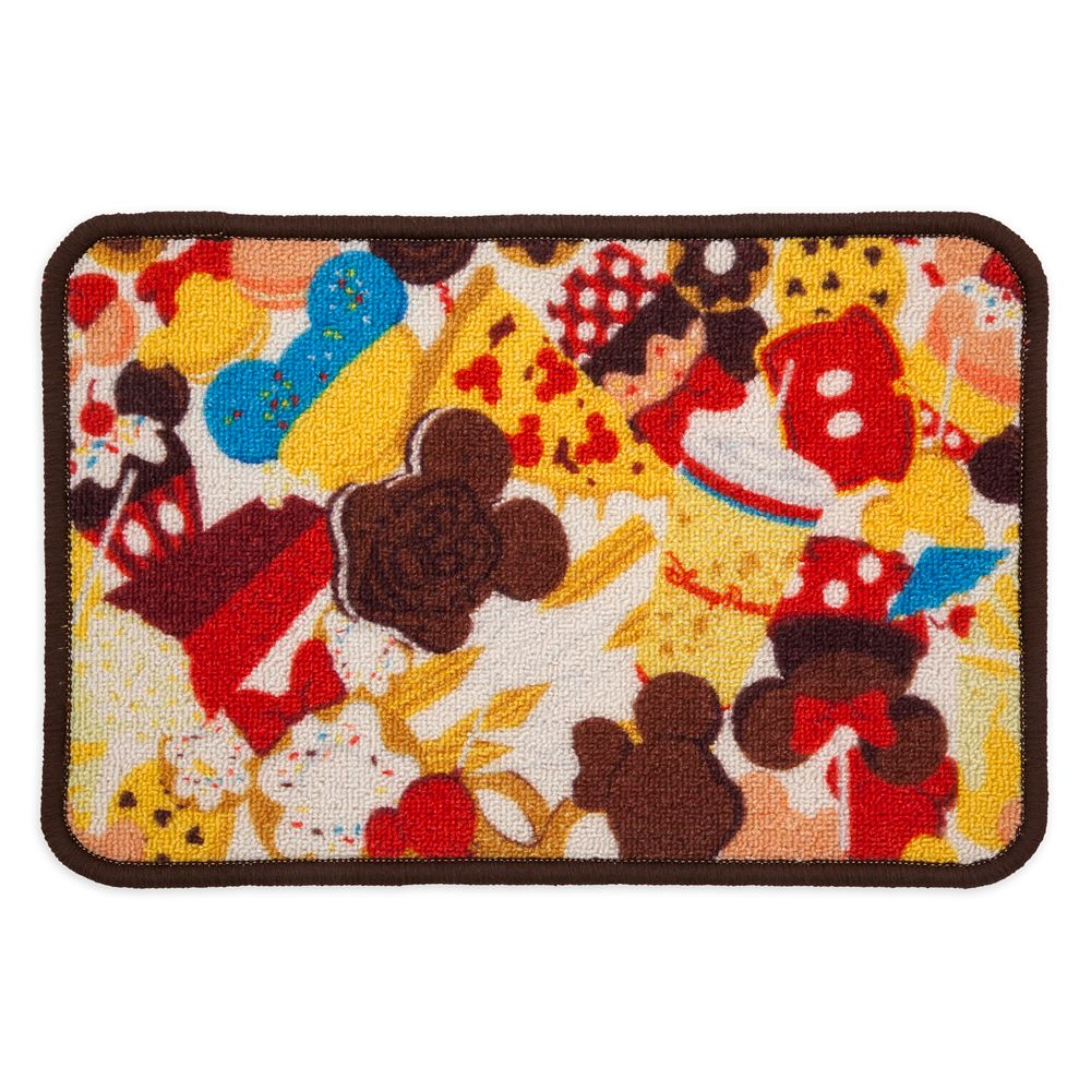 Disney Parks Food Icons Pet Feeding Mat