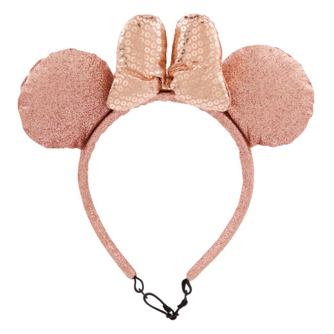 Minnie Mouse Ear Headband for Dogs – Rose Gold
