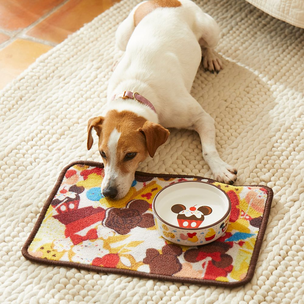 Disney Parks Food Icons Pet Food Bowl