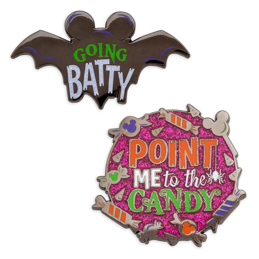 Halloween Pin Set