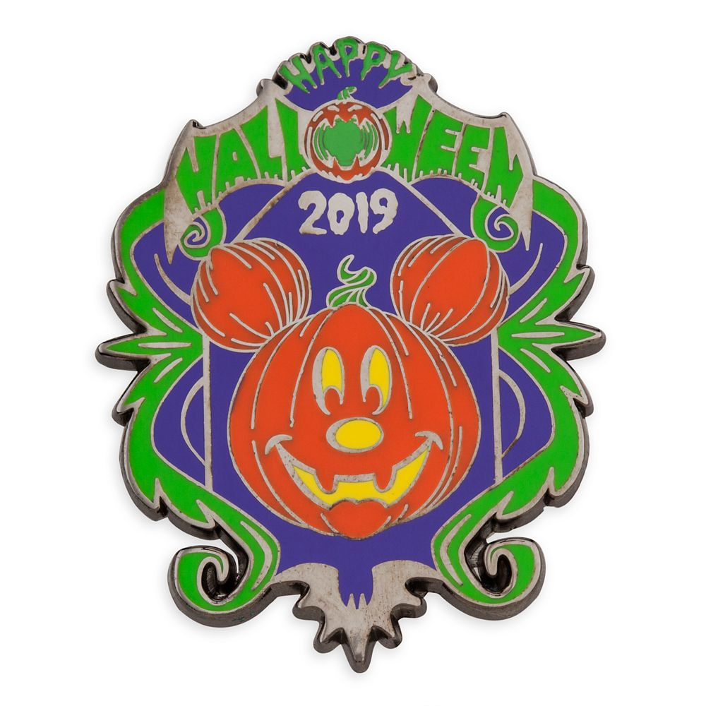 Mickey Mouse Jack-O'-Lantern 2019 Halloween Pin