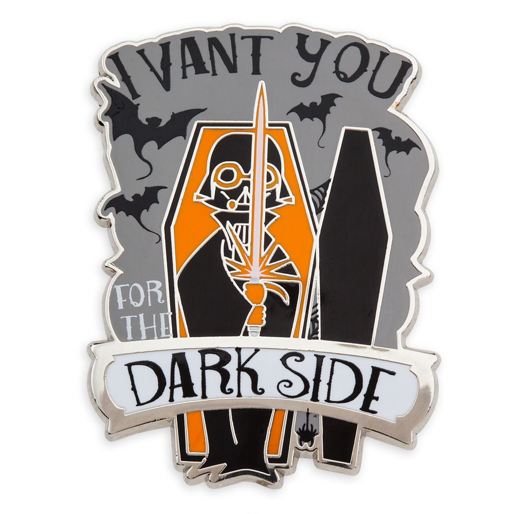 Darth Vader Halloween Pin
