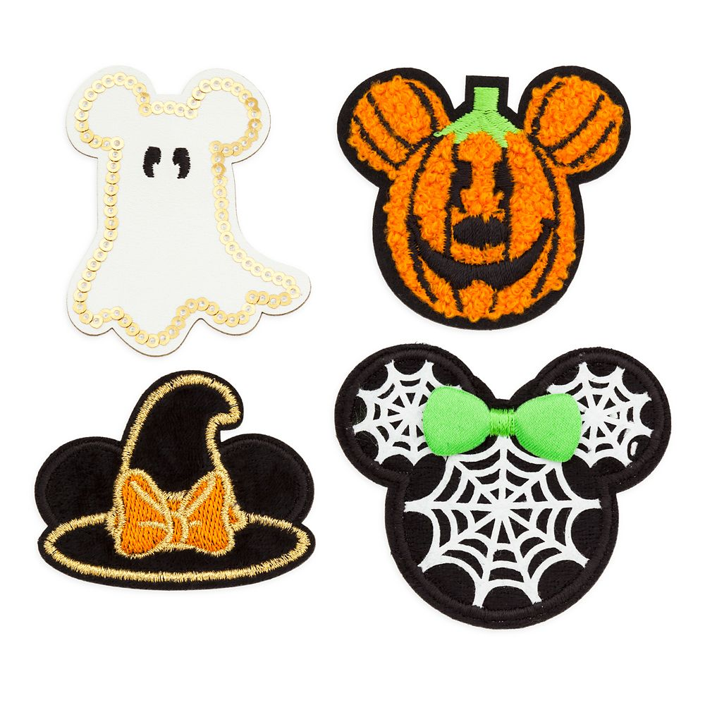 Mickey and Minnie Mouse Halloween Patched Set Official shopDisney