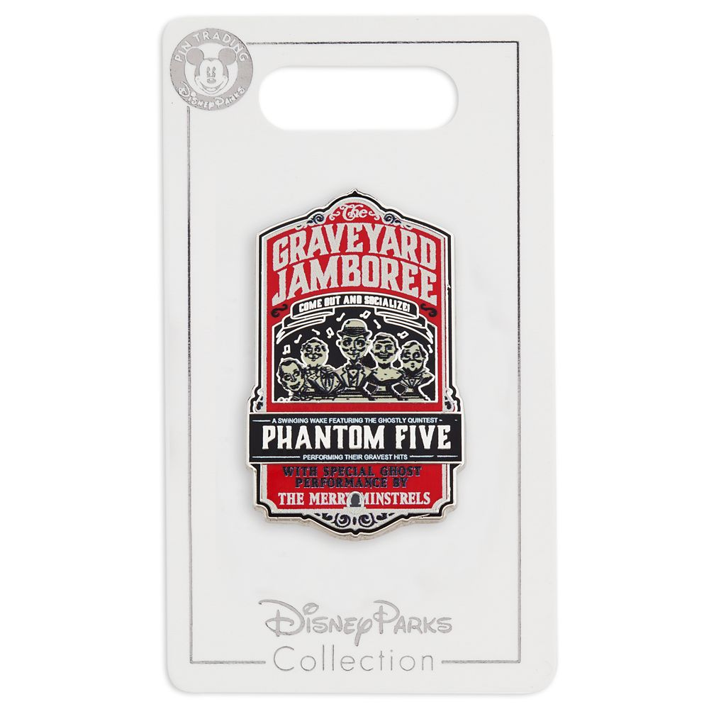 Phantom Five Pin – The Haunted Mansion