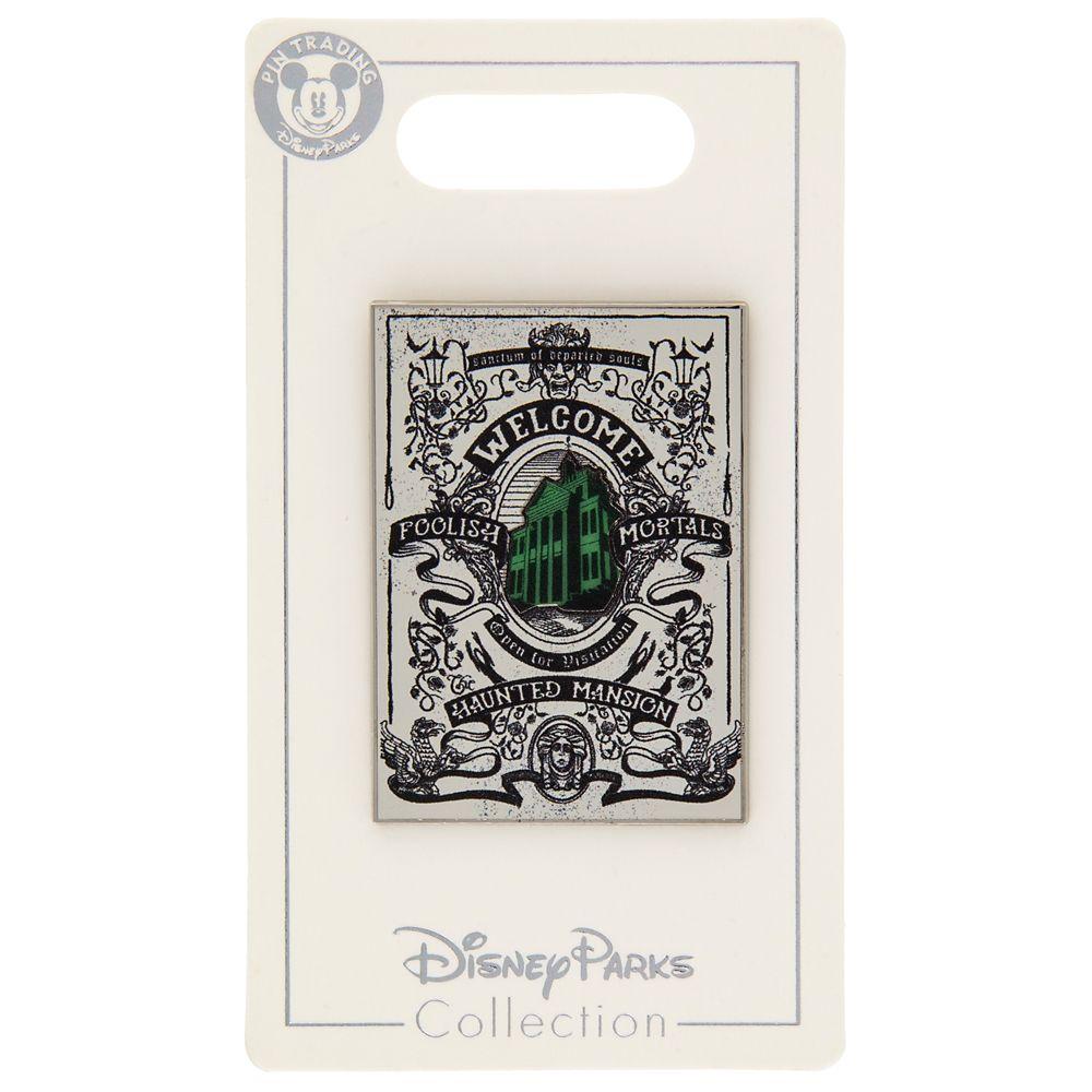 The Haunted Mansion Tarot Card Poster Pin – Disneyland