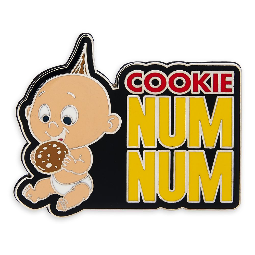 Jack Jack Cookie Num Num Pin The Incredibles Shopdisney