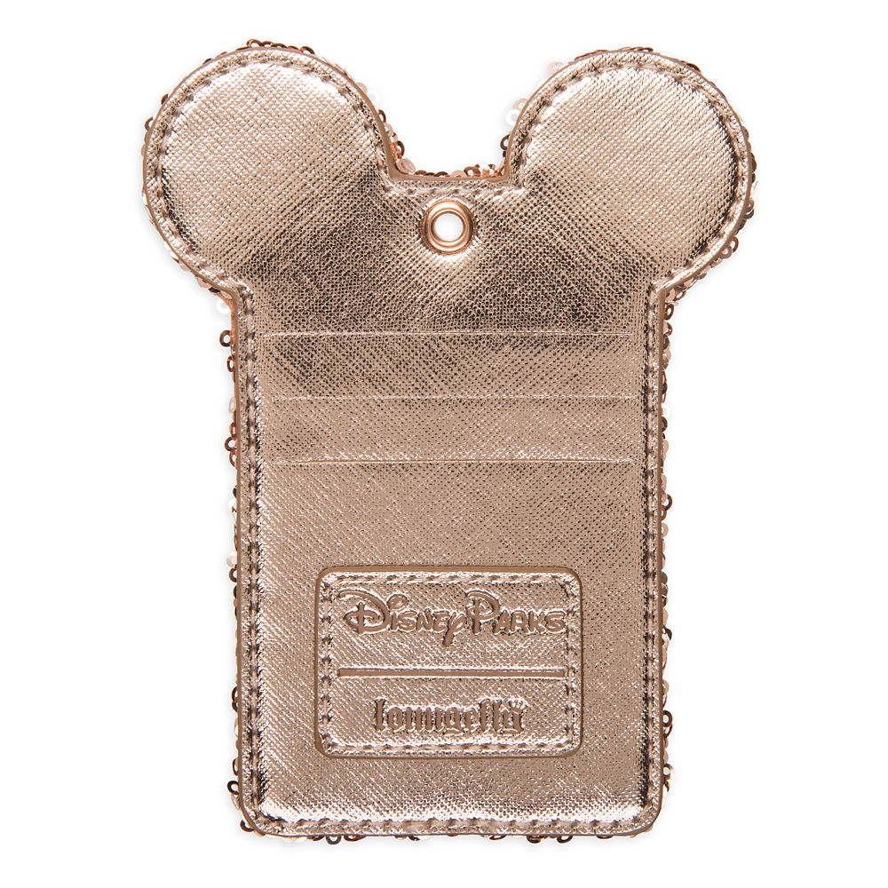 Minnie Mouse Lanyard and Pouch by Loungefly – Briar Rose Gold