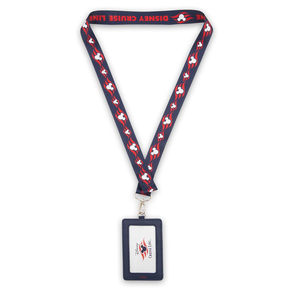 Disney Cruise Line Lanyard and Card Holder