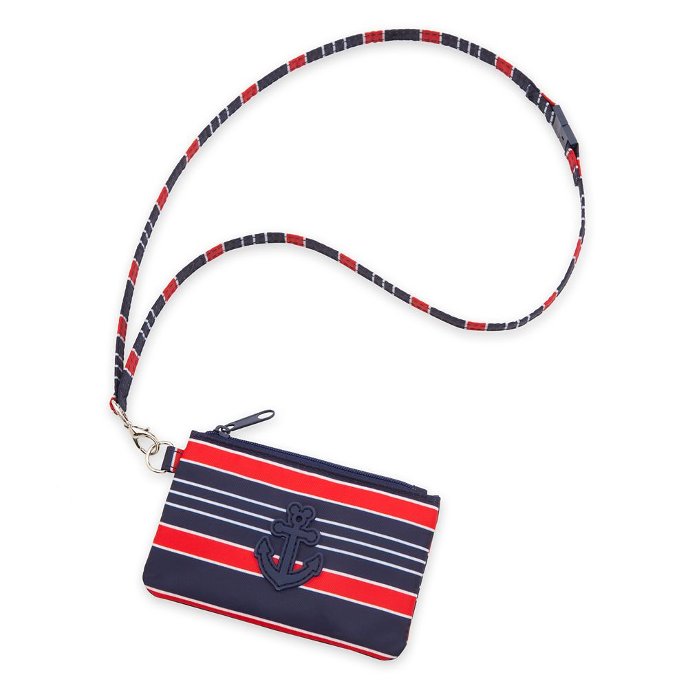 Disney Cruise Line Lanyard and Pouch