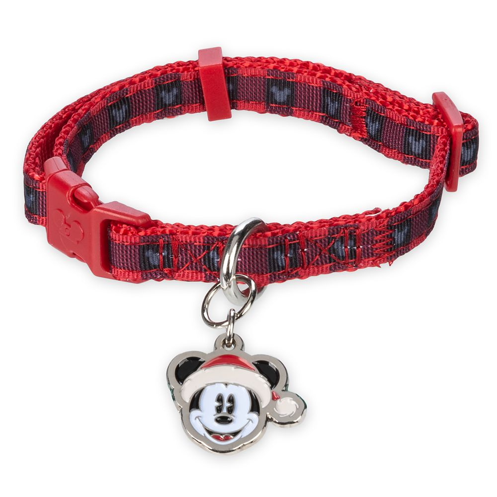 Mickey Mouse Holiday Dog Collar