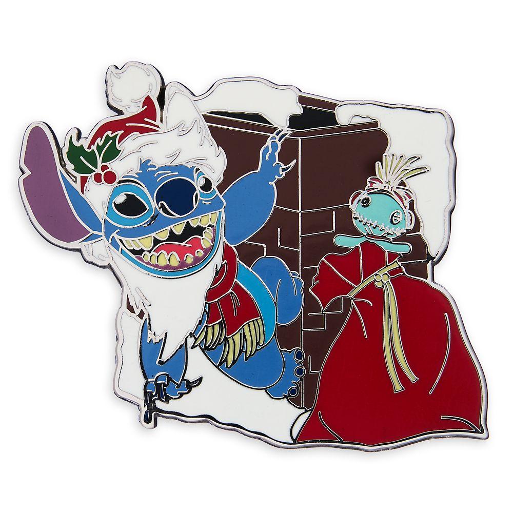 Stitch Holiday Pin