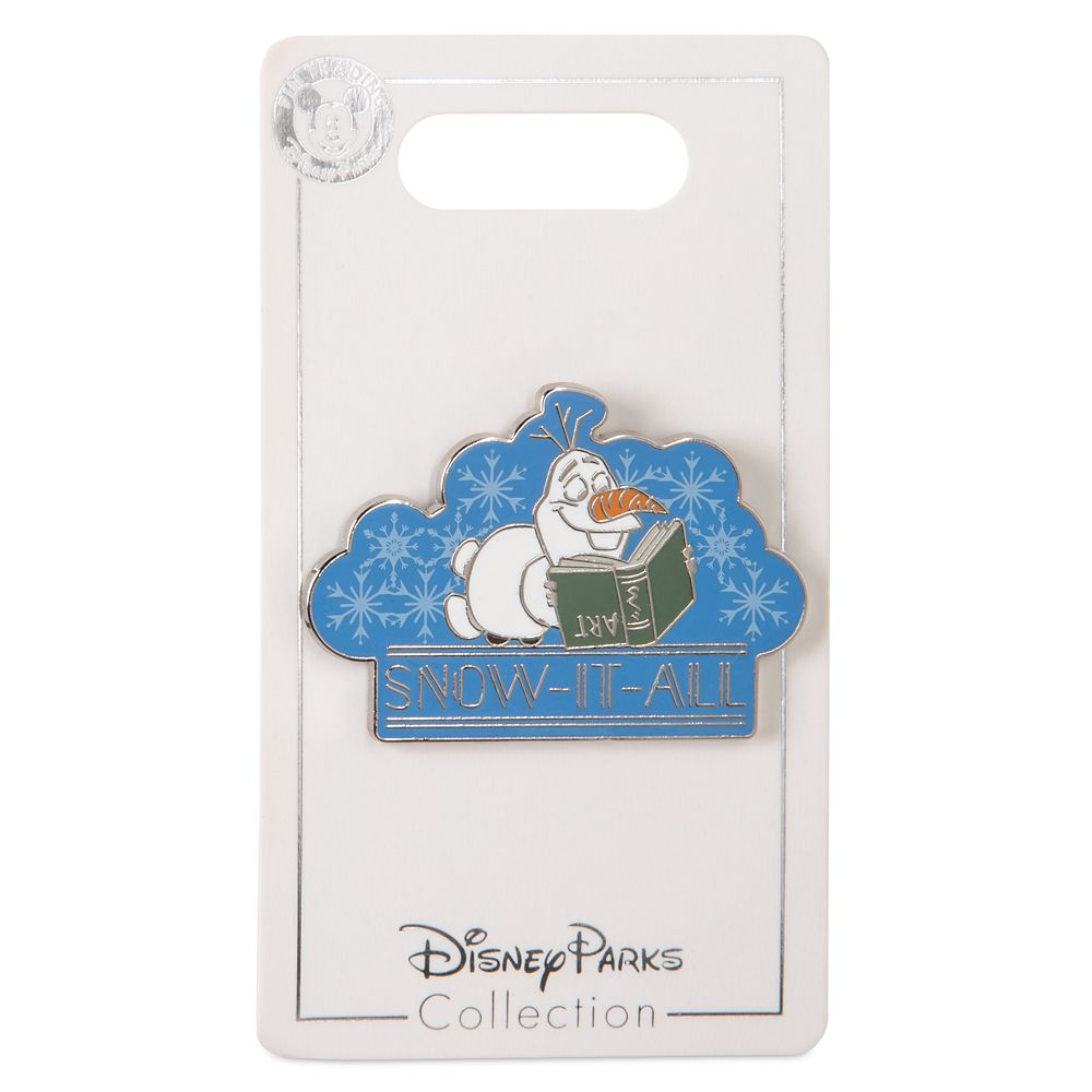 Olaf ''Snow-It-All'' Pin – Frozen 2