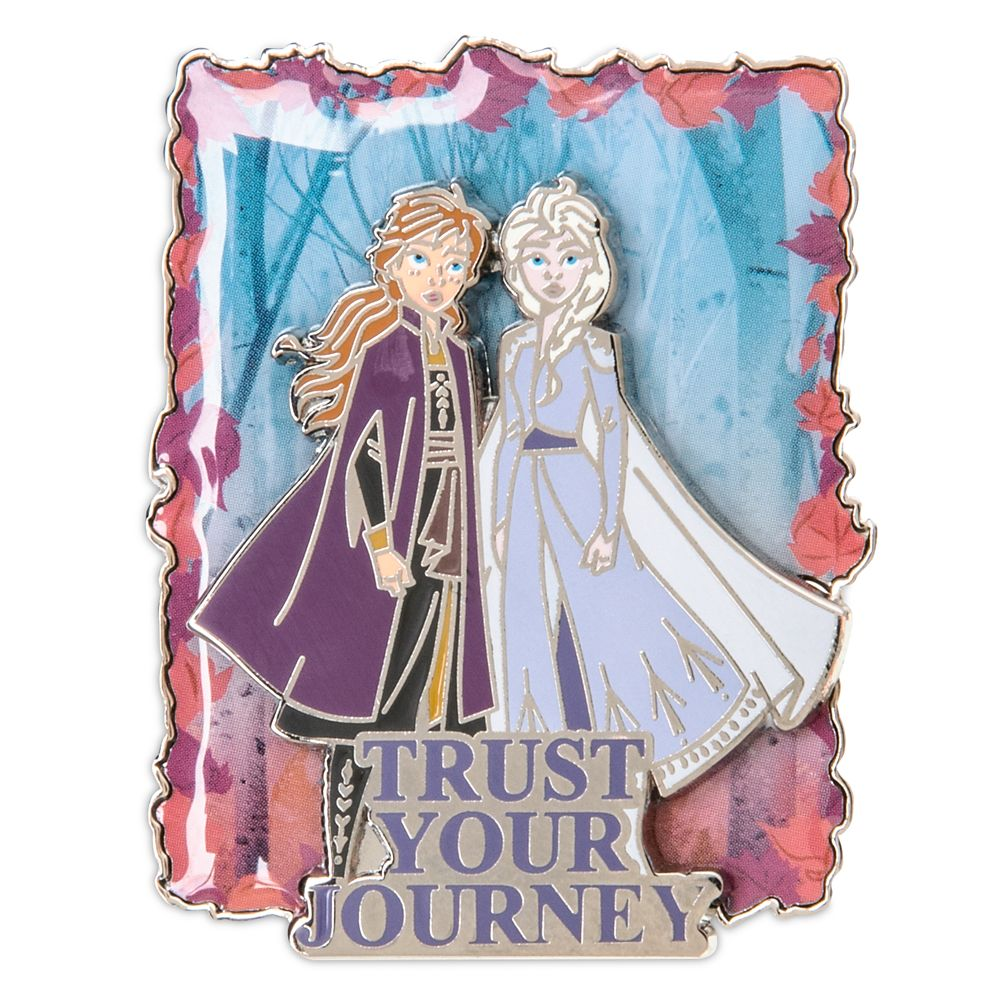 Anna and Elsa ''Trust Your Journey'' Pin – Frozen 2