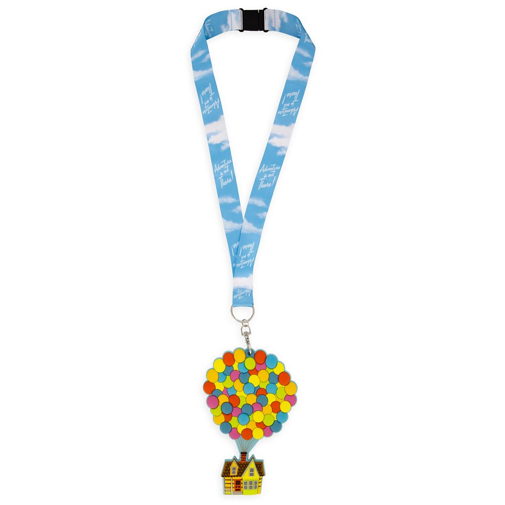 Up House ID Holder and Lanyard
