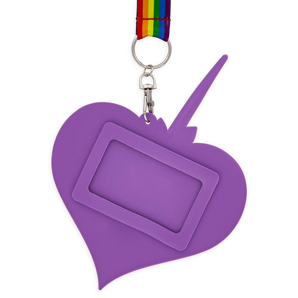 Rainbow Unicorn ID Holder and Lanyard – Inside Out