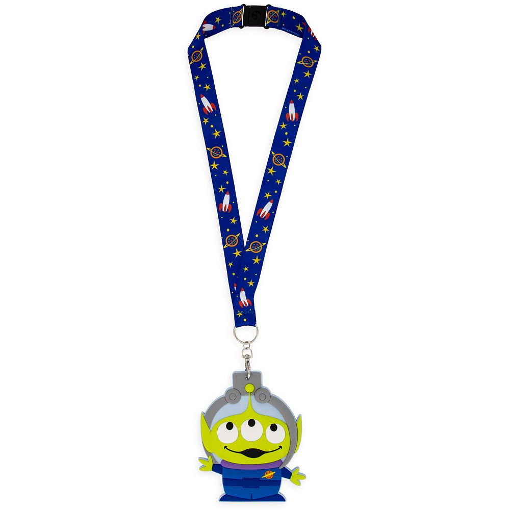 Toy Story Alien ID Holder and Lanyard