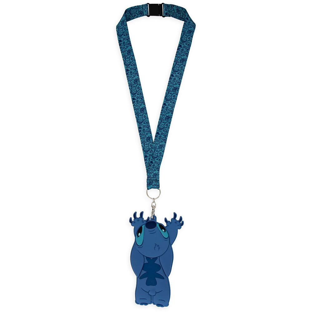 Stitch ID Holder and Lanyard