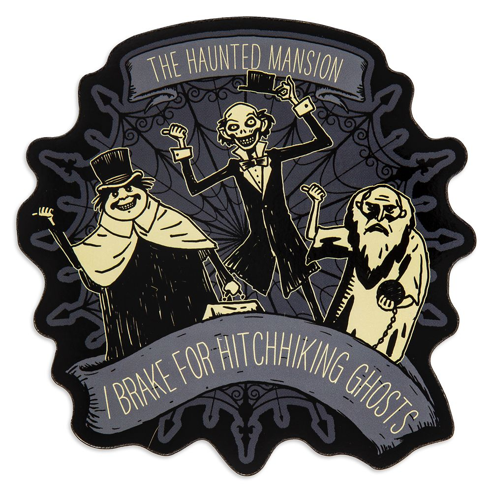 Hitchhiking Ghost Car Magnet – The Haunted Mansion